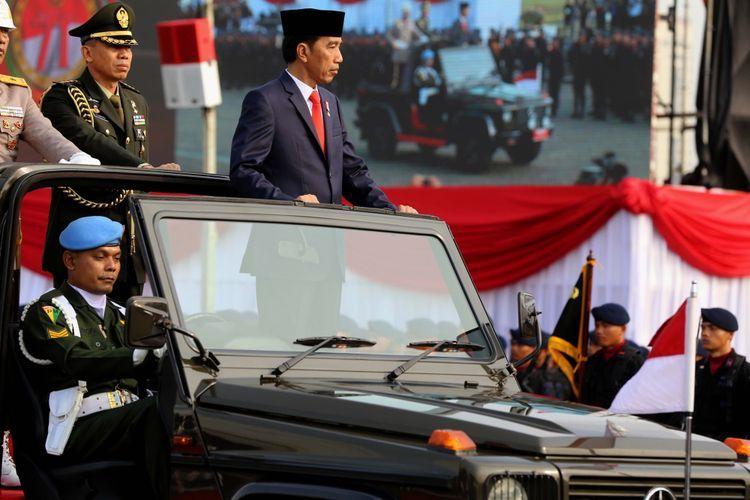 Presiden Joko Widodo. Foto : KOMPAS.com/Garry Andrew Lotulung