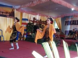 Beskalan, tari tradisional Malang sebagai pembuka. Dokpri
