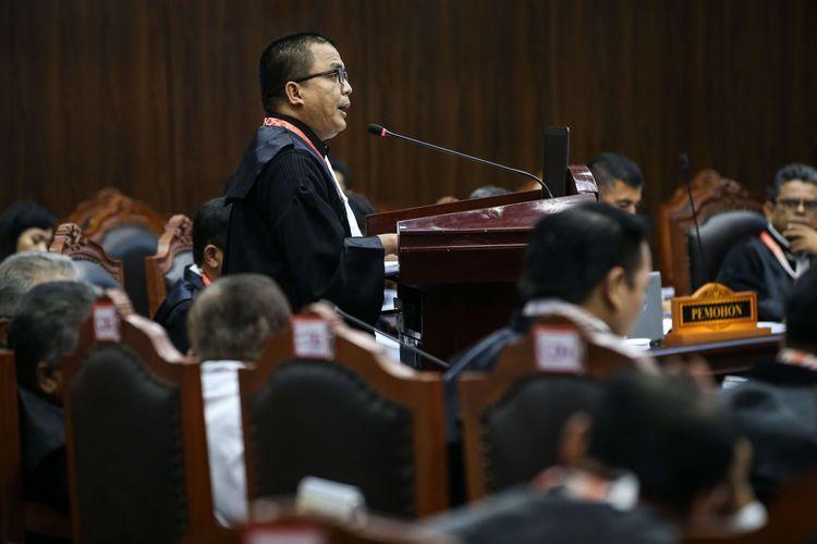 Sidang Perdana Sengketa Pilpres 2019 di Gedung Mahkamah Konstitusi, Jakarta, Jumat (14/6/2019). (KOMPAS.COM/ KRISTIANTO PURNOMO)