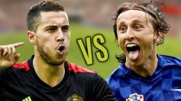 Hazard vs Modric/sport.alpenews.al