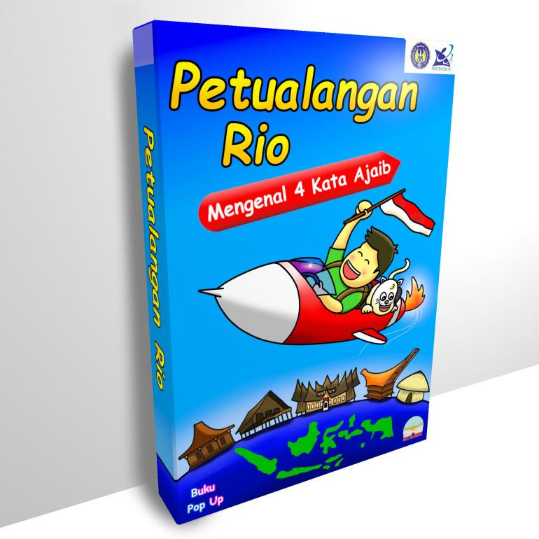Buku pop-up yang dibuat oleh salah satu Tim PKM UNY