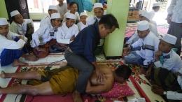 Pelatihan Massage (Pijat). Source: Dokumen Penulis