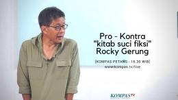 Rocky Gerung (Sumber Kompa.tv)