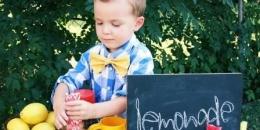 Ilustrasi anak berbisnis. (Gambar diambil dari Kompas.com)