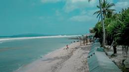 Pasir putih pantai Karapyak-Dokpri