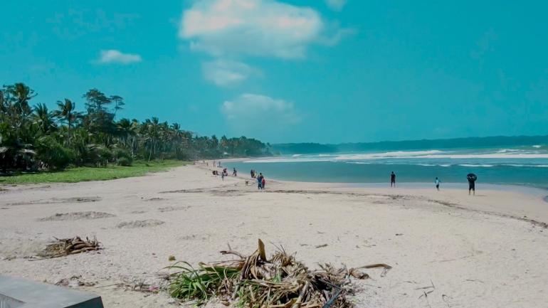 Pantai Karapyak - Dokpri