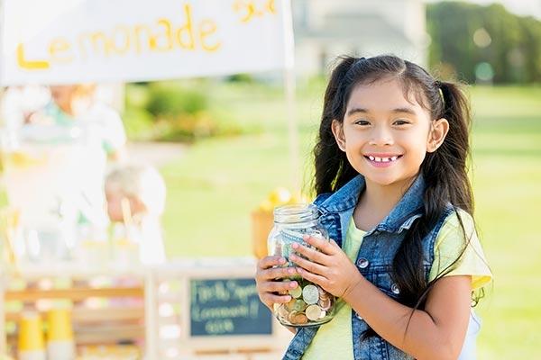Mengajarkan anak berbisnis sejak dini (Ilustrasi: www.signupgenius.com)