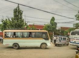Angkutan Kota Made In India Bengkel Las Pagar Bikin Usaha Sambilan Membuat Bus Merknya Macam Macam (dok. pribadi)