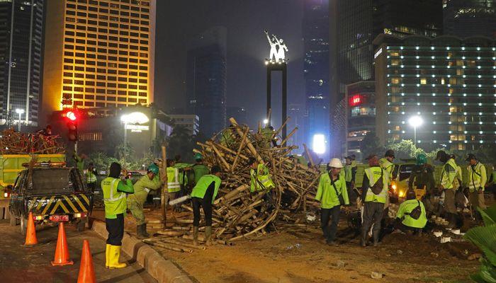 Jalinan bambu. poskotanews.com