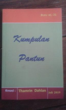 Buku Thamrin Dahlan, buku ke-21. (dok pri)