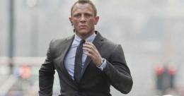 Daniel Craig sebagai James Bond (Foto : themirror.uk.co)
