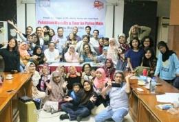 45 orang blogger dan PPI serta Clickompasiana. Nggak hoax. Foto: dok ClicK