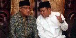 Pimpinan PB NU Said Aqil Siraj dan PKB Cak Imin [Foto: inilah.com]