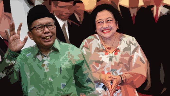 Arsul Sani [Tirto.id] dan Megawati Soekarnoputri [Tempo.co]