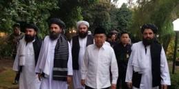 JK dan Delegasi Taliban [Foto: mercinews]