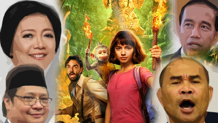 Dora the Explorer wajib ditonton para pembuat kebijakan publik [ilustrasi, imdb.com dan media lain]