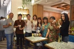 Kompasianer bersama undangan pre souft launching OneZo- dok RG