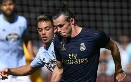 Gareth Bale saat laga melawan Celta Vigo (sumber: beinsports.com)