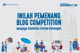 Kompasiana Blog Competition Menjaga Stabilitas Sistem Keuangan BI