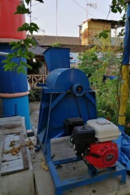 Digester pengolah sampah organik foto: Dokpri