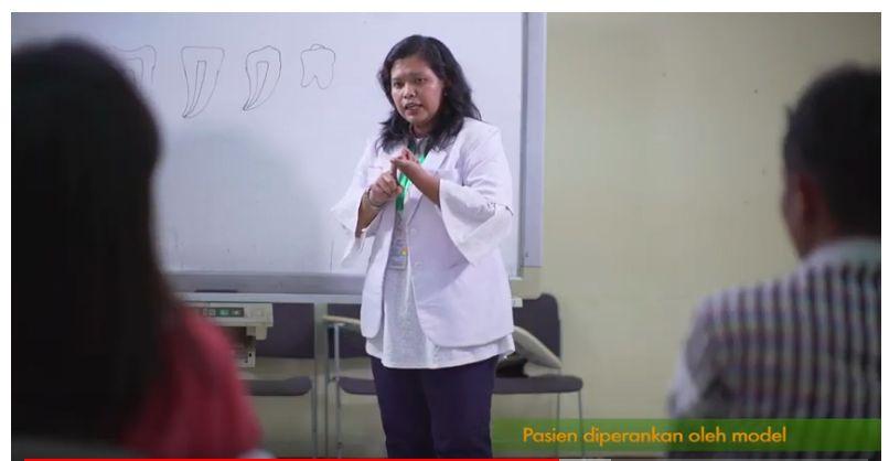 Deskripsi : Profesional session merupakan kegiatan rutin yang diselenggarakan setiap hari selasa I Sumber Foto : dokpri RSKO