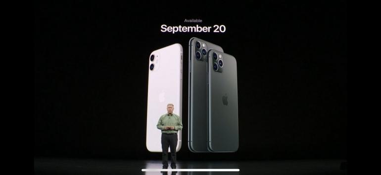 iPhone 11, iPhone 11 Pro, dan iPhone 11 Pro Max. (Video screenshot)