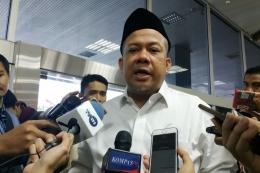 Wakil Ketua DPR Fahri Hamzah. Foto: KOMPAS.com/Haryantipuspasari