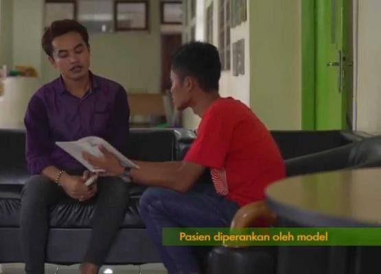 Deskripsi :Sharing Session merupakan waktu yg tepat bagi pasien Napza/Narkoba dalam mengelola stres I Sumber Foto : RSKO Jakarta
