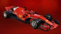 Ferrari SF71H yang mengaspal di F1 2018 (dok.F1.com)