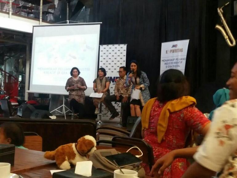 Event JNE Kopiwriting di Jogja. Foto: dok.pri