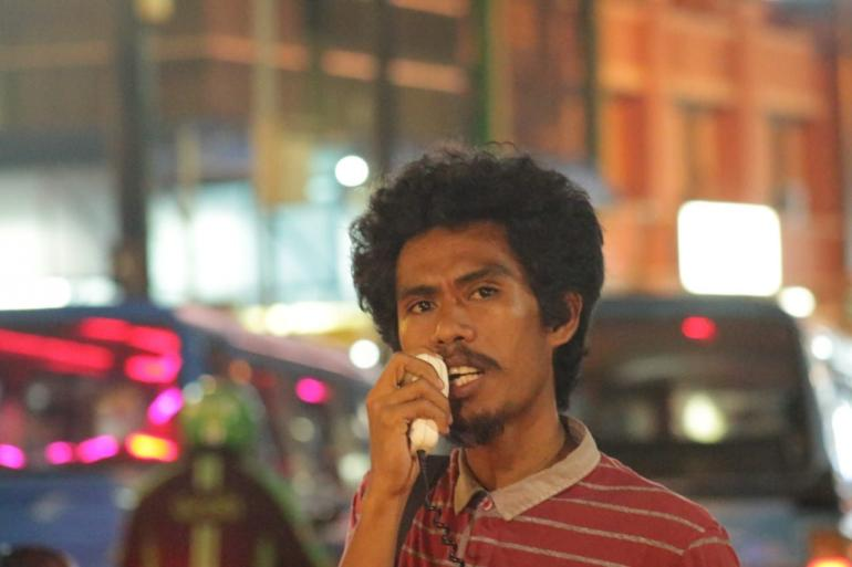 Dokpri: Soerya Fuar ( Aksi Kamisan Manado untuk Kemanusia )