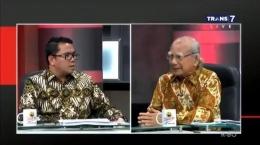 Arteria Dahlan dan Emil Salim dalam program acara Mata Najwa Trans7 | Sumber: Mata Najwa Trans7