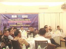 Acara Makan Malam Bersama antara BNN pusat, BNNP Aceh dan Perwakilan BUMN Bersatu