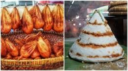Kue Burayot dan Awug (tribunnews.com)