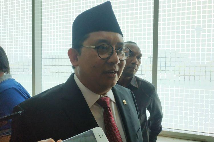 Wakil Ketua Umum Partai Gerindra, Fadli Zon   Gambar: KOMPAS.com