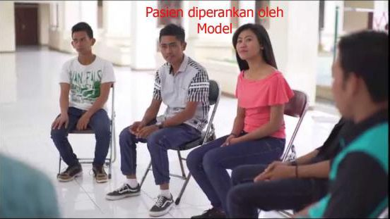 Deskripsi : Pertemuan Berkelompok dalam program Rehabilitasi Narkoba di RSKO Jakarta | Sumber Foto: dokpri