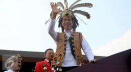 Presiden Joko Widodo dalam sebuah kesempatan ke Kalimantan Barat   Liputan6.com
