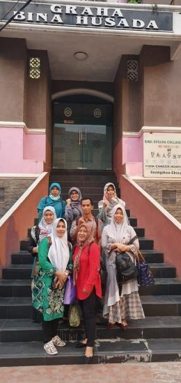 Sebagian mahasiswa MKM Bina Husada Palembang. dokpri
