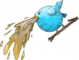 Twitter Vomit oleh OpenClipart Vectors - Ilustrasi: pixabay.com