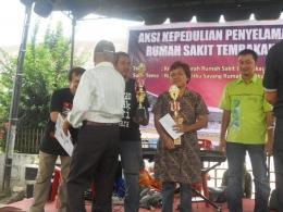 Menang nulis tentang Penyelamatan RS Tembakau Deli pada tahun 2012 (Dokpri tahun 2012)