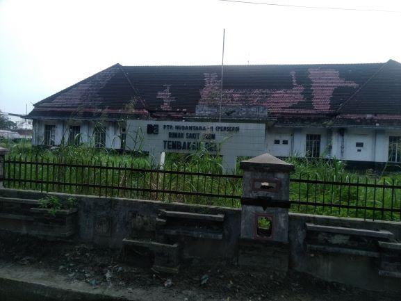 RS Tembakau Deli Kondisi Saat Ini (Dokpri 19 November 2019)