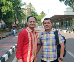 Fachrur Razi M.IP bersama Ismunazar MM   dokpri