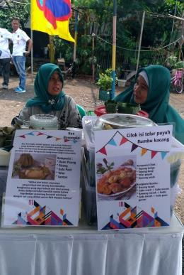Makanan nusantara menghiasi pameran kuliner (dokpri)