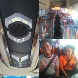 Beberapa fasilitas yang nyaman: AC, kursi baru yang dilengkapi sabuk pengaman. Dok pribadi