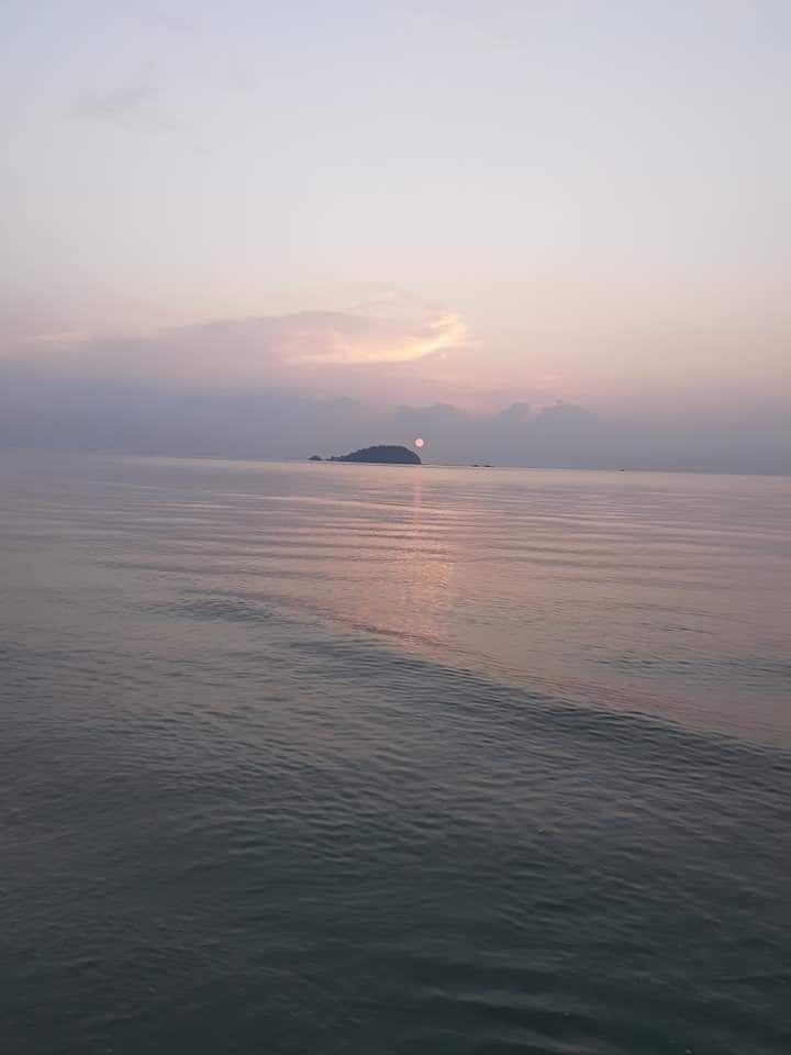 Senja di Pantai Tanjung Pendam/Dokpri