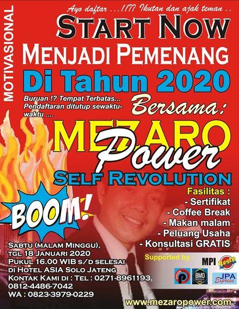 MOTIVASIONAL TAHUN 2020 DI SOLO JATENG | Dok. pribadi