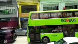 Fasilitas bus yang nyaman (DOK. PRIBADI)