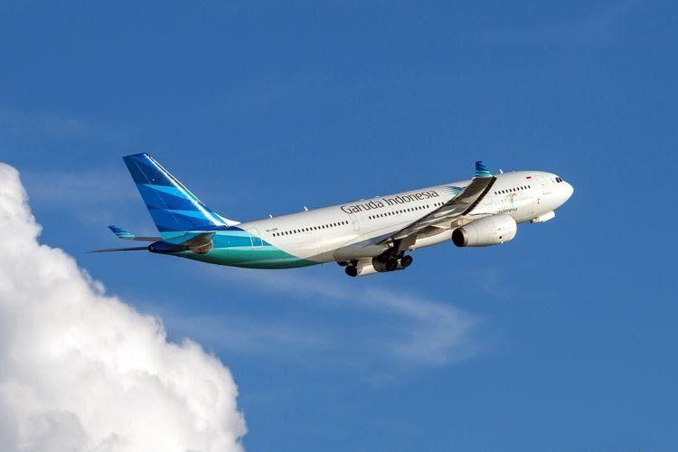 Ilustrasi Pesawat Garuda Indonesia   Kompas