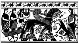 Illustrasi Artemis, dewi perburuan dalam mitologi Yunani. Memiliki keidentikan dengan Dewi Ushas dalam tradisi Hindu. (sumber: www.thoughtco.com)