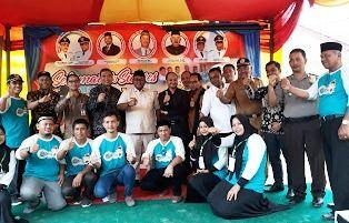 Wakil Bupati H.Fauzi Yusuf, Ketua Komite I, DPD RI, Senator Fachrur Razi M.IP, Undangan dan Tim Smart Gampong yang dipimpin oleh Ismunazar MM   dokpri